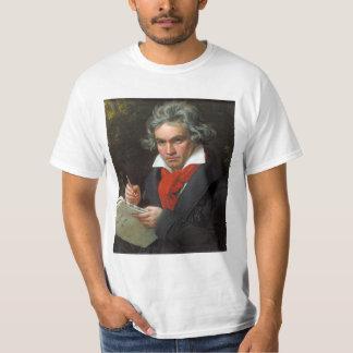 Camiseta Retrato do vintage do compositor, Ludwig von