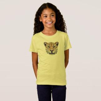 Camiseta Retrato ilustrado do Jaguar.