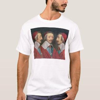 Camiseta Retrato triplo da cabeça de Richelieu, 1642