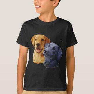 Camiseta Retratos de labrador retriever