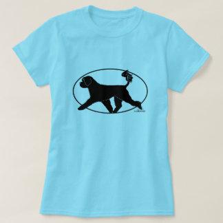 Camiseta Retriever português de Gaiting do cão de água