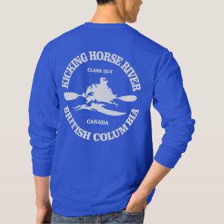 Camiseta Retrocedendo o rio do cavalo
