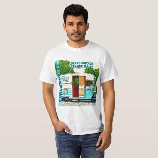 Camiseta Reunião 2017 do reboque do vintage de Ozark