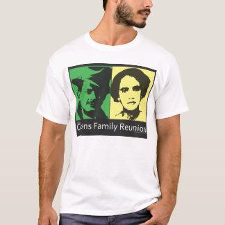 Camiseta reunião de família dos collins