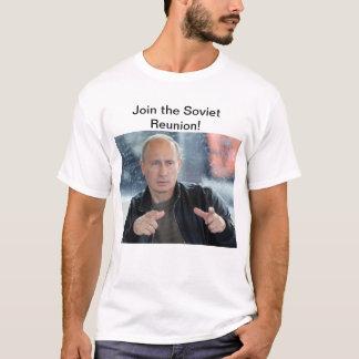 Camiseta Reunião soviética