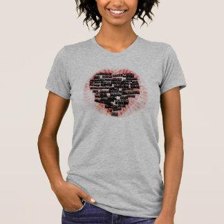 Camiseta REV-MEIO-Coração de um líder