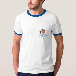 Camiseta Revestimento lustroso do leme holandês