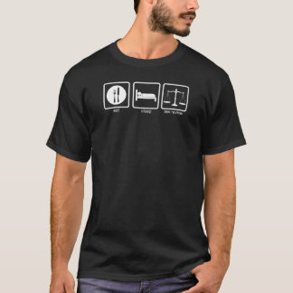 Camiseta Revisão 2 da lei de Verne do La - branco
