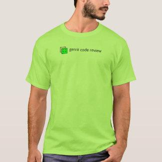 Camiseta Revisão de código de Gerrit