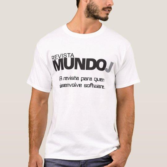 Camiseta Revista MundoJ