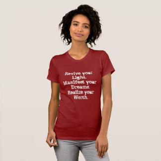 Camiseta Revive sua luz