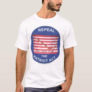 Camiseta Revogue Patriot Act