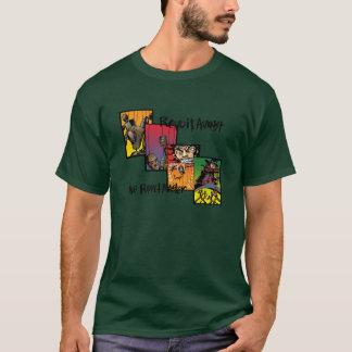 Camiseta Revolta contra o mestre do fantoche