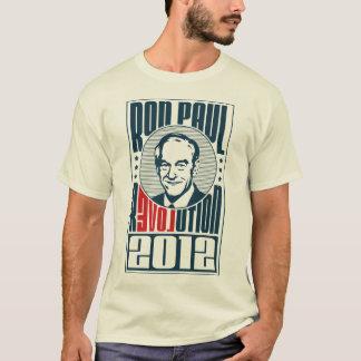 Camiseta Revolução 2012 de Ron Paul