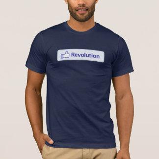 Camiseta Revolução de Facebook