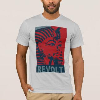 """Camiseta Revolução egípcia 2011 da """"revolta"""" do rei Tut"""