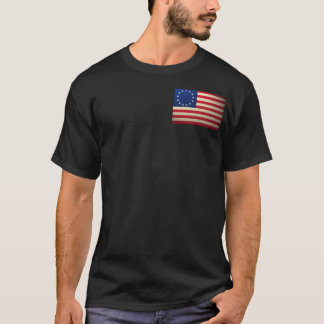 Camiseta revolucionário-guerra-bandeira