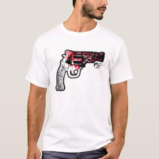 Camiseta Revólver sangrento