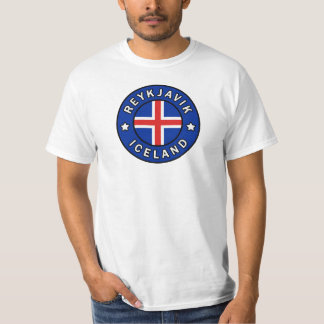 Camiseta Reykjavik Islândia