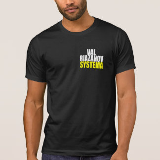 Camiseta Riazanov Systema de Val