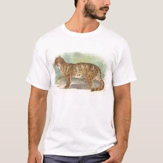 Camiseta Richard Lydekker - leopardo nublado