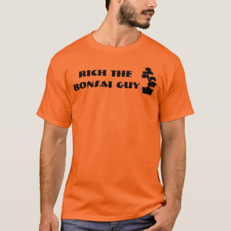 Camiseta Ricos as árvores dos bonsais da cara dos bonsais