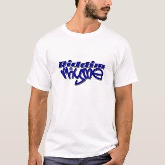 Camiseta Riddim & rima (T do grupo)