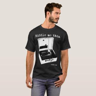 Camiseta Riddle me this Enigma Machine Black