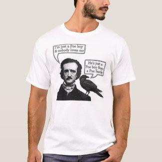 Camiseta Riff de Edgar Allan Poe na rapsódia boémia da