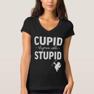 Camiseta Rimas do Cupido com estúpido
