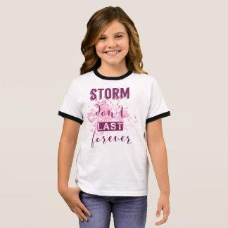 Camiseta Ringer A tempestade de inspiração não dura para sempre a