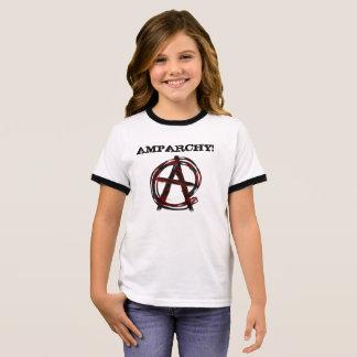 Camiseta Ringer Anarquia do Ampersand! T-shirt