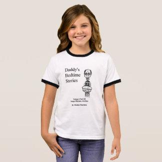 Camiseta Ringer As histórias de horas de dormir de Daddys inflamam