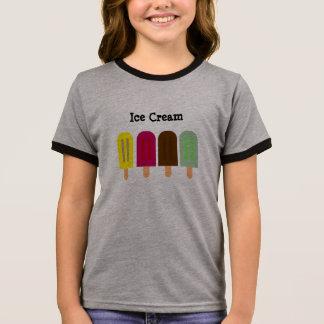 Camiseta Ringer Bar do sorvete