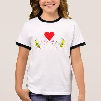 Camiseta Ringer casal das abelhas