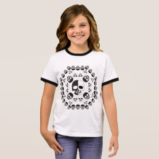 Camiseta Ringer Crânios