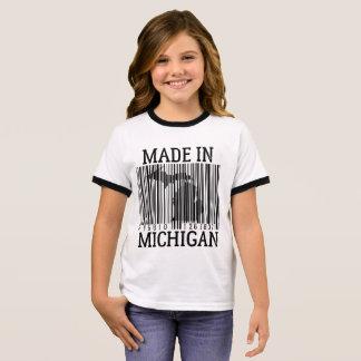 Camiseta Ringer feito no T da campainha das meninas do código de