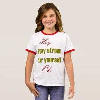 Camiseta Ringer Forte para o senhor mesmo