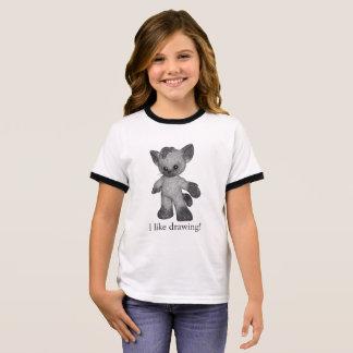 Camiseta Ringer Grayson o t-shirt que Siamese eu gosto de tirar!