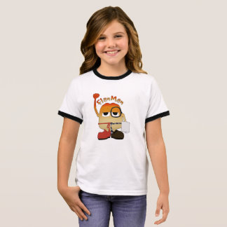 Camiseta Ringer Homem do Flan
