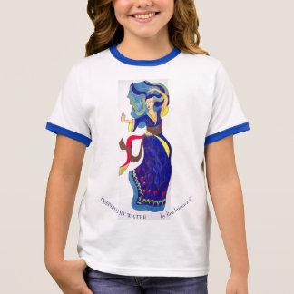 Camiseta Ringer Inspirado pela água