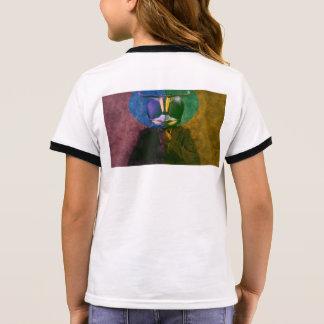 Camiseta Ringer Mosca do homem