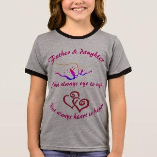 Camiseta Ringer Pai e filha