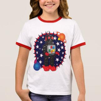 Camiseta Ringer Reparo-ele Bot