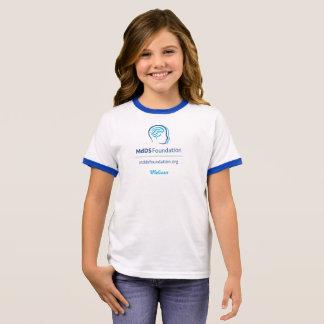 Camiseta Ringer T-shirt da campainha da menina da consciência de