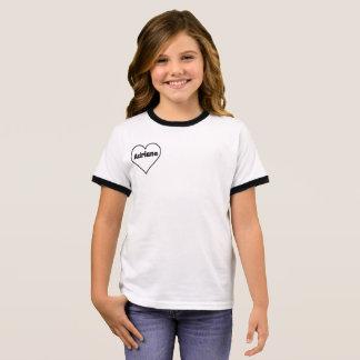 Camiseta Ringer T-shirt do coração de AdrianaM