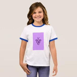 Camiseta Ringer Uvas roxas