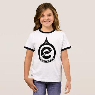 Camiseta Ringer Vai o t-shirt norte da campainha das meninas