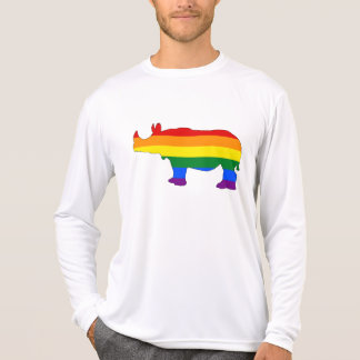 Camiseta Rinoceronte do arco-íris