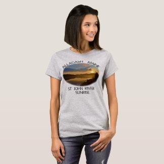 Camiseta Rio de Allagash Maine St John